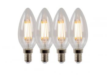 LED FILAMENT 4W (4 tk)