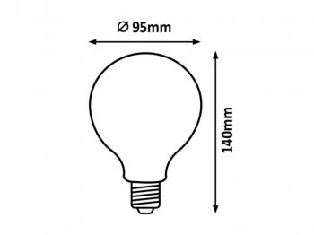 Valgusallikas G95 8W