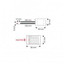 LED riba komplekt, RGB IP45